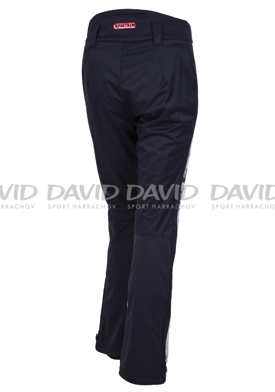 62019414c5f5 detail Dámske lyžiarske nohavice Sportalm Jump Druck tmavo modrá